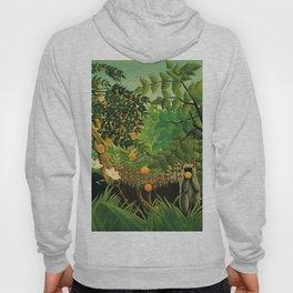 "Henri Rousseau ""Exotic landscape"", 1910 Hoody"