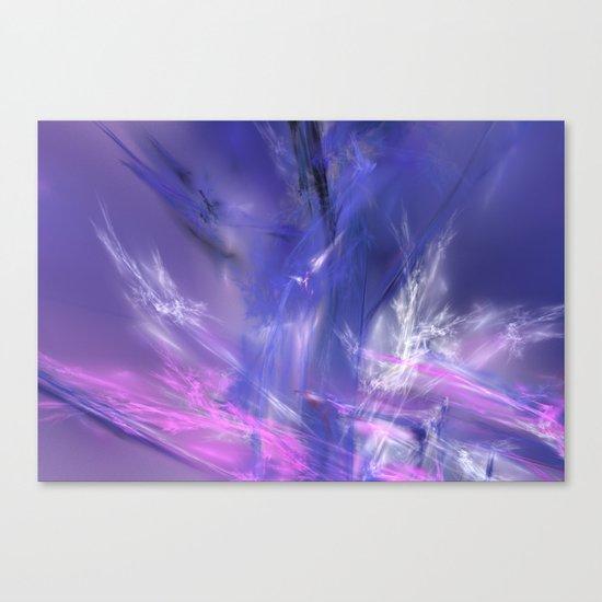 magic ice Canvas Print