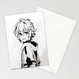 Mikaela Hyakuya Stationery Cards