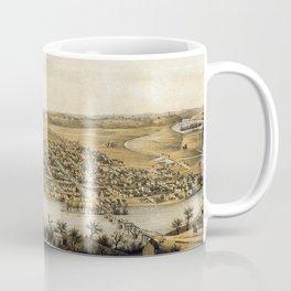 View of Fredericksburg - 1863 Coffee Mug