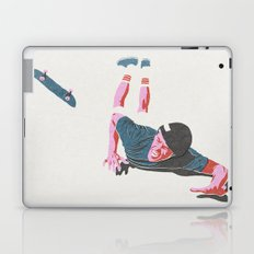 skateboarding 3 (lost time, risograph) Laptop & iPad Skin