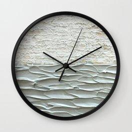 Grey Seas 2 Wall Clock