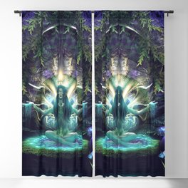 Convalescence - Visionary - Fractal - Manafold Art Blackout Curtain