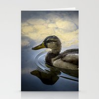 duck Stationery Cards featuring Duck by B.P.