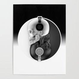 Headphone Harmony Poster