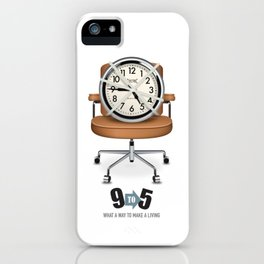 9 to 5 - Alternative Movie Poster iPhone Case