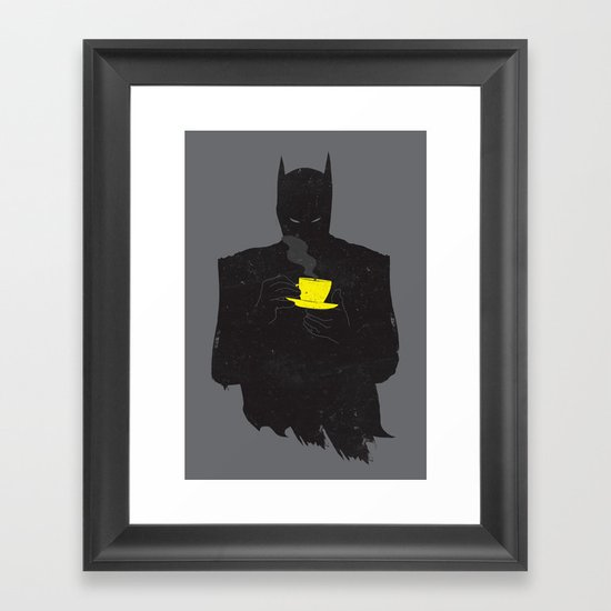 baTEAman Framed Art Print