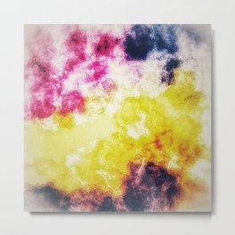 Watercolor effect digital art Metal Print