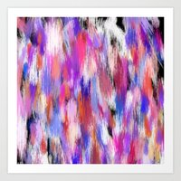 Multi Color Abstract  Art Print