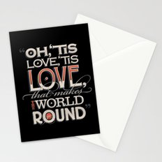 Oh, 'Tis Love Stationery Cards