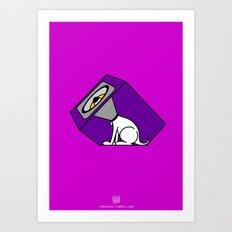 Wireless Woofer Art Print