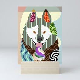Schipperke  Mini Art Print