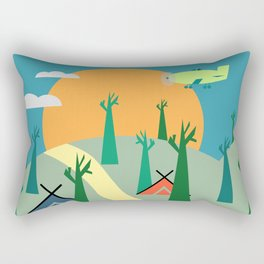 Outdoors Rectangular Pillow