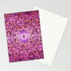 Mandala Pink Night Stationery Cards