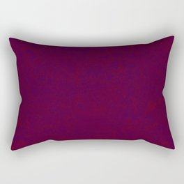 brocade effect in purple and red Rectangular Pillow