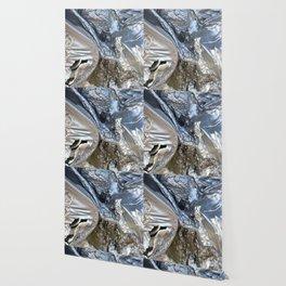 black plastic melts Wallpaper