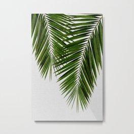 Palm Leaf II Metal Print