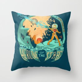 In Super Troidicolor Throw Pillow