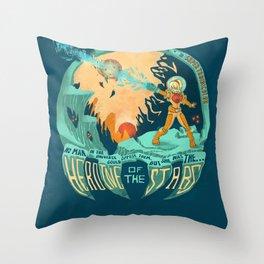 In Super Troidicolor Throw Pillow