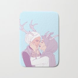 my love, you and i Bath Mat