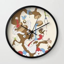 Natures Revenge Wall Clock