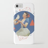 dorothy iPhone & iPod Cases featuring Dorothy by Cut and Paste Lady