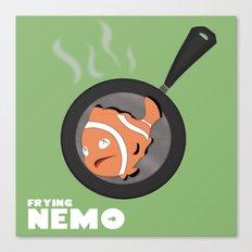 Frying Nemo Canvas Print