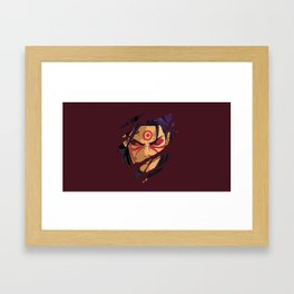 Hashirama Face Framed Art Print