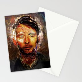 The Portrait Eraser (Thom Yorke) Stationery Cards