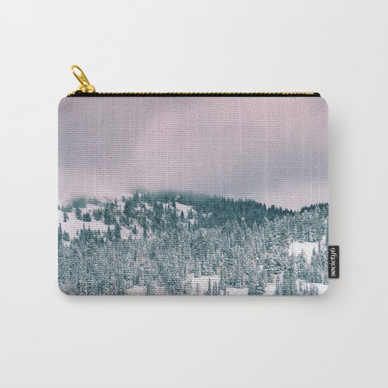 Winter love #art #buyart #society6 Carry-All Pouch