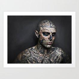 Zombieboy Art Print