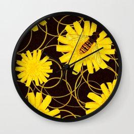 Wasps Wall Clock