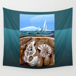 The Geology of Boating Wall Tapestry
