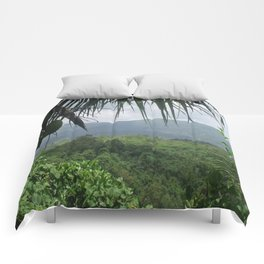 Puerto Rico Scenery Comforters