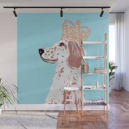 English Setter Dog Art Wall Mural