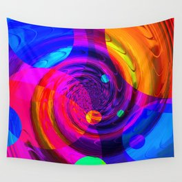 Re-Created Twisters No. 10 by Robert S. Lee Wall Tapestry