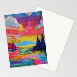 September's End Stationery Cards