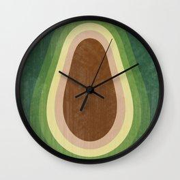 Free Shavacado - Retro Fruit Wall Clock