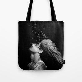 Icarus Dreaming Tote Bag