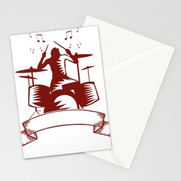 Hard Rock Musik Punk Grunge Geschenk Shirt Cooles Shirt Stationery Cards