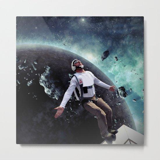 Base Jump Metal Print