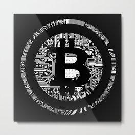 Bitcoin 4 Metal Print