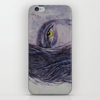 siren iPhone & iPod Skins featuring Siren by Michael Creese