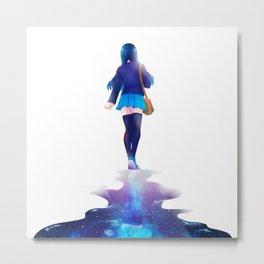 Walk among the stars Metal Print