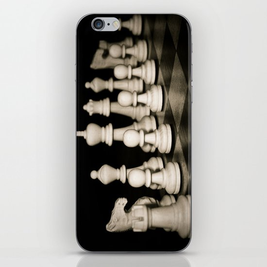 Chess Set iPhone & iPod Skin