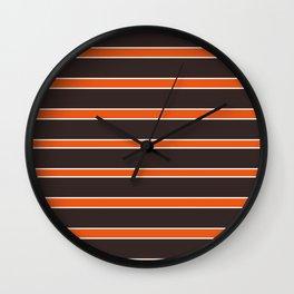 Football Ohio Wall Clock
