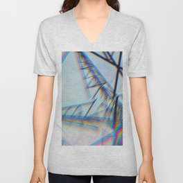 Blurred Lines Unisex V-Neck