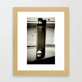 Lit Panda Framed Art Print