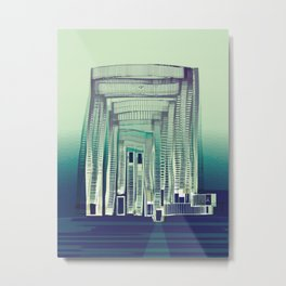 Immaterial Adventure Metal Print