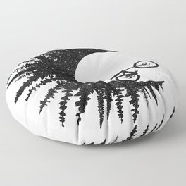 Ink Rider Floor Pillow